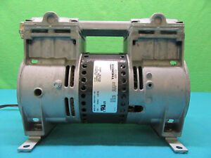 Thomas 2660cefs37 164 100v 50 60hz 4 8 5 5a Vacuum Pump tested