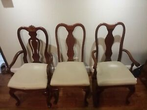 45692 Henkel Harris 110 Set Of 8 Queen Anne Dining Chairs