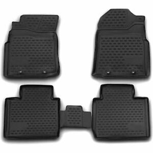 Westin Floor Mats Front New Black For Toyota Tacoma 2012 2016 74 41 41030