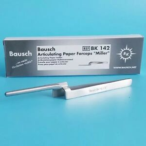 Dental Bausch Articulating Paper Forceps miller Articulating Paper Holder
