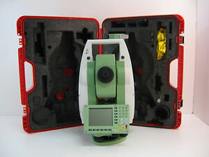 Leica Tcp1201 Plus 1 Total Station For Surveying One Month Warranty