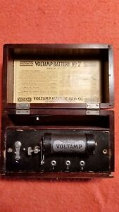 Voltamp Battery No 7 Olympia Antique Electrotherapy Device
