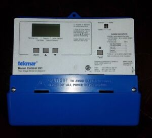 Used Tekmar 261 2 Stage Boiler Controller