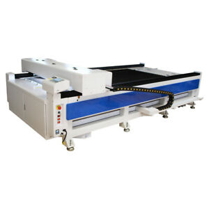 Reci 100w Co2 1300x2500mm Flatbed Laser Cutter Laser Cutting Engraving Usb