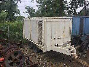 Ingersoll Rand Portable Air Compressor For Sale 825 Cfm 125 Psi