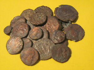 Ancient Coins Lot Of 21 Different Coins Rome Byzantium Early Islam