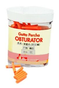 Dental Saeshin Gutta Percha Obturator Bar Soft Type 100pcs