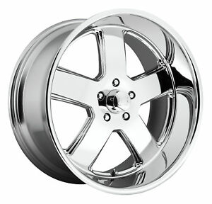 Cpp Us Mags U116 Hustler Wheels 20x8 F 22x11 R Fits Chevy Chevelle Ss Impala