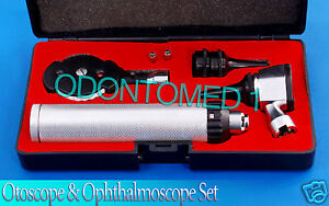 Ent Opthalmoscope Ophthalmoscope Otoscope Nasal Diagnostic Set Kit Nt 530
