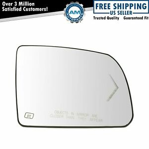 Side View Mirror Glass Heated Turn Signal W Backing Plate Rh For Sequoia