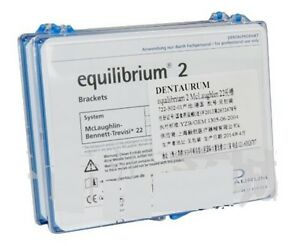 Dental Dentaurum Mbt Equilibrium 2 Brackets Metal Straight Wire