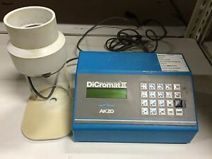 Akzo Dicromat Ii Salt Analyzer Includes Flow through Probe