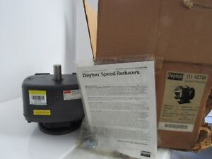 Dayton 1 4z720 Speed Reducer