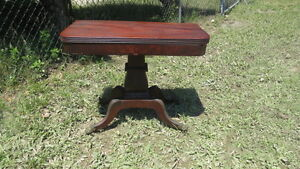 Antique Boston Federal Mahogany Card Table
