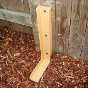 The Fix a fence Heavy Duty Metal Fence Post Repair Bracket Support