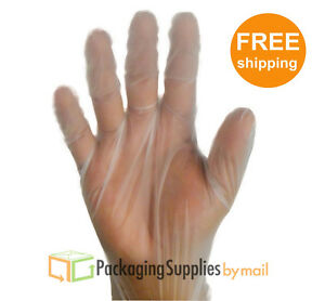2000 Vinal Disposable Gloves Powder Free Size Small 20 Boxes 2000 Pieces