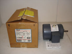 Ao Smith Century Ac Motor H688 7 182606 01 1 3hp 1725rpm 200 230 460v 3ph
