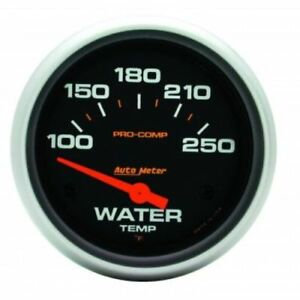 Auto Meter 5437 2 5 8 Pro comp Electric Water Temperature Gauge 100 250 f
