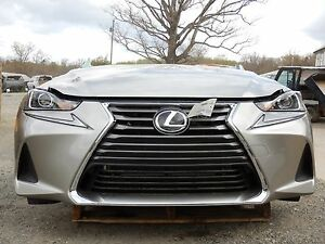 2017 Lexus Is300 Awd 3 5l At Front End Assembly Clip Nose New Iihs Test Car