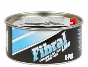 U Pol 766 Fibral Lite Sandable Fiberglass Auto Body Filler Paste Qt Upol Up0766