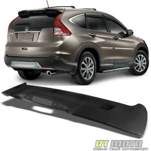 For 2012 2016 Honda Crv Cr v Factory Style Rear Roof Abs Spoiler Wing Matte Blk