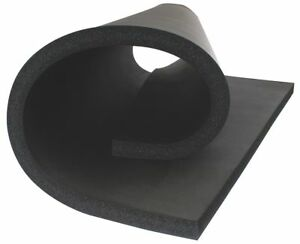Thermacel Polyolefin Insulation Sheet 36 X 48 1 Thickness Black