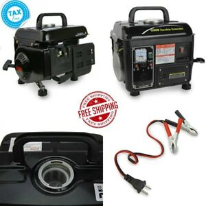 1200w Portable Gasoline Electric Power Generator Gas Cmt Emergency Home Black