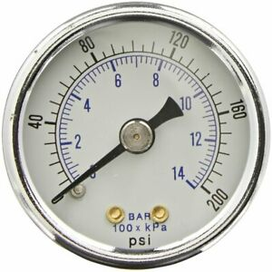 Heavy Duty Compressor Pressure Gauge Fits Porter Cable Dewalt 5140169 10
