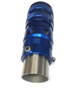 Adjustable Blue Blow Off Valve Universal Fitment Bov For Intercoolers