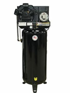 5 Hp 60 Gallon Single Stage Air Compressor 18 Cfm Free Shipping 1 Phase