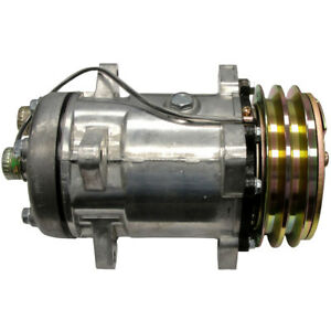 Ac Compressor Fits Ford New Holland Tr86 Combine Others 9704118