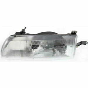 New Head Lamp Assembly Driver Side Fits 1991 1993 Toyota Previa To2502108