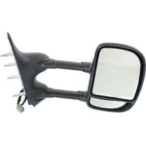 New Rh Side Power Non Heated Mirror Fits Ford Econoline Van Fo1321329
