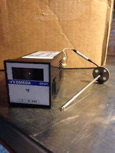 Omega Digital Panel Thermometer Dp371 With Thermocouple
