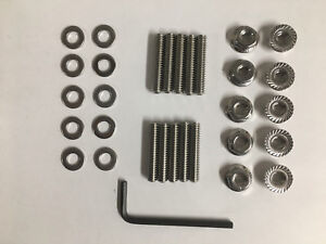 Chevy Small Big Block Timing Chain Cover Stud Kit For Aluminum Covers Sbc Bbc
