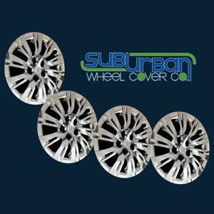 12 13 14 Toyota Camry 466 16c 16 Chrome Hubcaps Wheel Covers New Set 4
