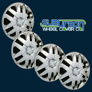 2004 2010 Toyota Sienna Style 416 16c 16 Chrome Hubcaps Wheel Covers Set 4
