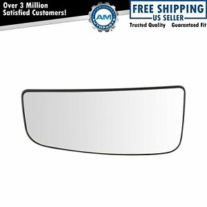 Towing Mirror Glass Heated Lower Driver Side Left Lh For Ford Pickup Truck New