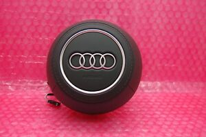 New Audi S Line A3 S3 Tt Tts R8 Leather Steering Wheel Driver Airbag 8s0880201