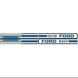 Ford 9700 Tractor Hood Decal New Aftermarket Vinyl