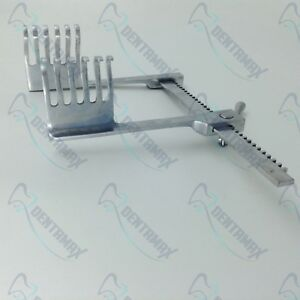 Orthopedics Bone Rib Retractors 6 Prongs Veterinary Orthopedics Instruments