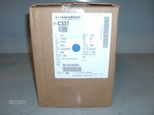 nib Marathon Electric Motor C331 1 2hp 3450rpm nib