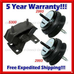 M320 Fits 2004 2006 Pontiac Gto 5 7l 6 0l Engine Motor Transmission Mount Set