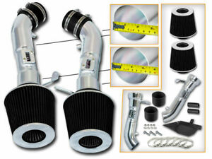 Bcp Black Heat Shield Cold Air Intake For 2008 2013 G37 Coupe 3 7 V6