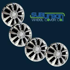 15 17 Toyota Camry Style 6505 c 16 Chrome Hubcaps Wheel Covers New Set 4