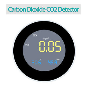 Carbon Dioxide Co2 Monitor Temperature Humidity Home Detector Handheld Measuring