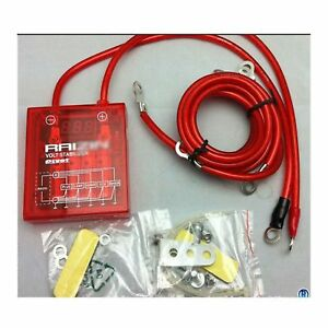 Pivot Mega Raizin Red Universal Car Fuel Saver Voltage Stabilizer Regulator