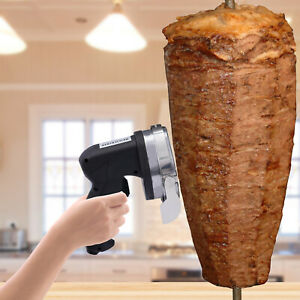 Professional Electric Shawarma Doner Kebab Slicer Gyros Knife Cutter Meat Carver