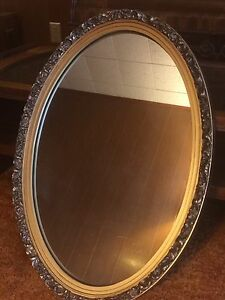 Oval Hanging Wall Mirror