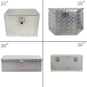 24 49 Aluminum Tool Box Storage For Truck Pickup Trailer Underbody Underbed